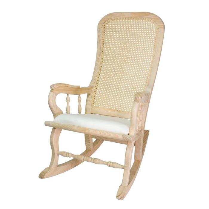 Sillas de lucena mecedora rejilla pretapizada - Fabricas de sillas en lucena ...