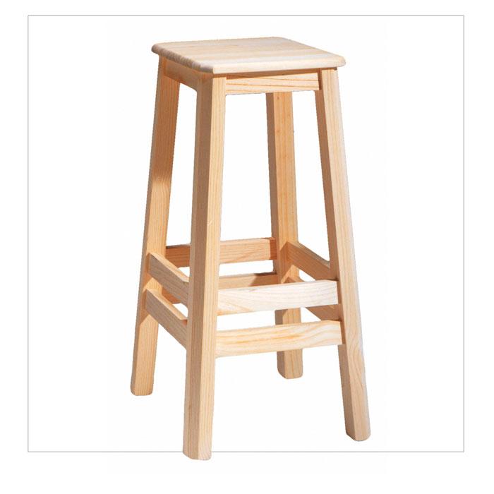 Taburetes de madera para cocina muebles de hosteleria for Taburete bar madera